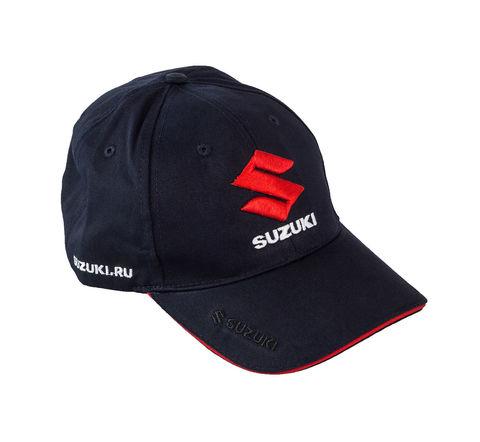 Бейсболка Suzuki, 3D вышивка, синий
