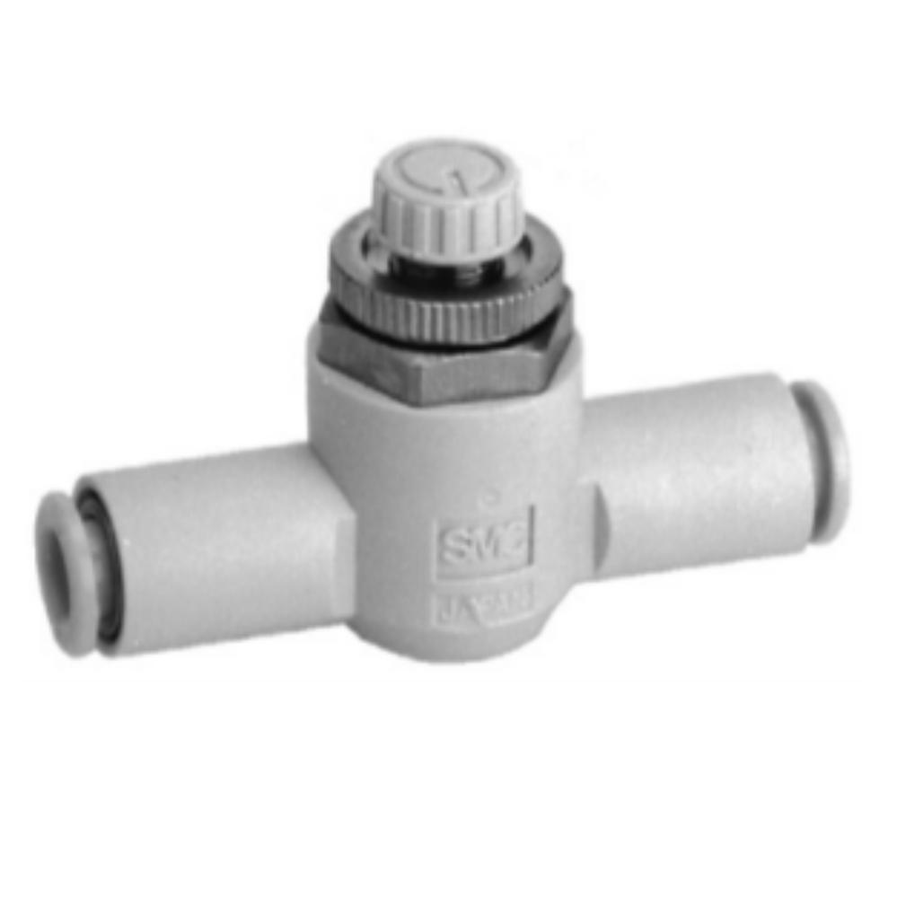 AS1001F-06-3   Дроссель с обратным клапаном, панельного монтажа, б/р 6