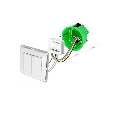 Реле 2-кл. выключателя Rubetek PAN06-5B