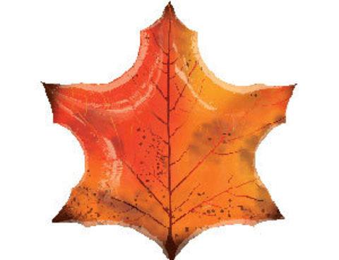 Фольгированный шар Кленовый лист