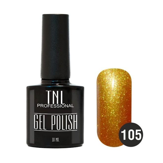 TNL Classic TNL, Гель-лак № 105 - золотой песок (10 мл) 105.jpg