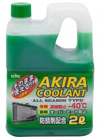 Akira Coolant -40 зеленый / Антифриз всесезонный