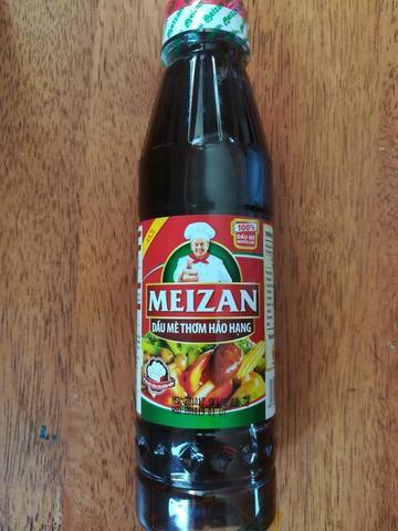 100% натуральное кунжутное масло Meizan  - 250 мл.