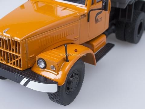 KRAZ-256 B1 tipper orange-gray 1:43 AutoHistory