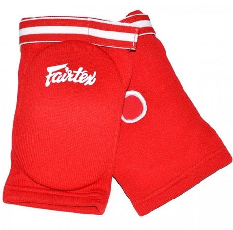 Налокотники Fairtex Elastic Elbow Pads EBE1 Red