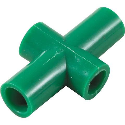 Крестовина D-20 мм, для труб проходная