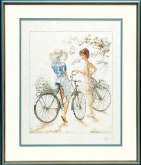 Lanarte Girls on Bicycle (Велосипедистки)