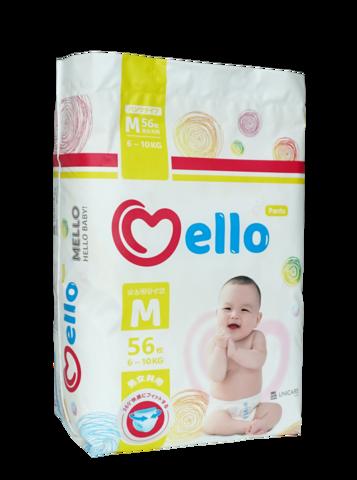 Трусики Mello размер M (6-10 кг) 56 шт