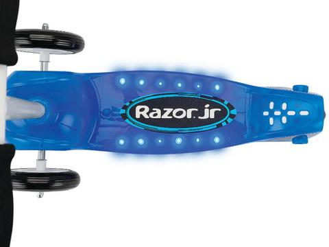 Трехколесный самокат Razor Mini Lil Tek со светящейся платформой