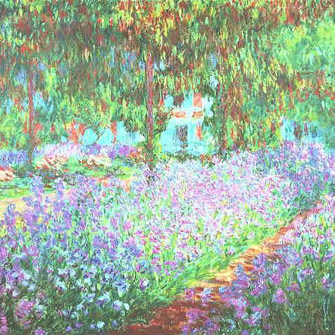 Зонт складной Guy de Jean 6410-6 Claude Monet