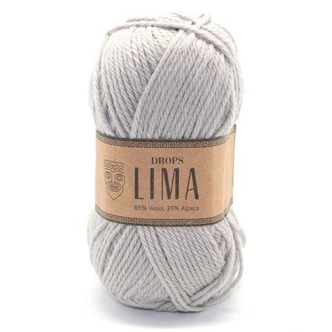 Пряжа Drops Lima 9010 светло-серый