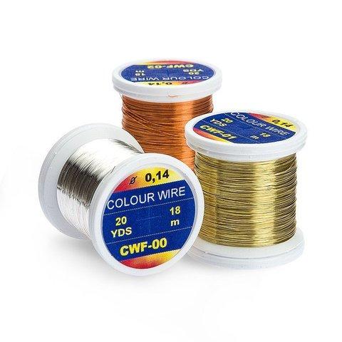 HENDS Проволока металлическая Color Wire 0,14 20 Yards