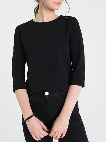 GSF004566 Блузка женская, черная
