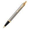Parker IM Core - Brushed Metal GT, шариковая ручка, M