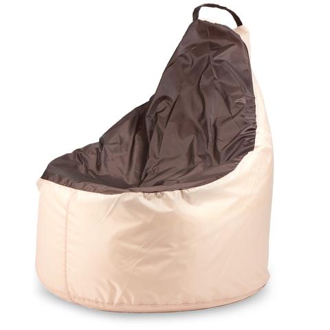 Бескаркасное кресло «Комфорт», Бежево-коричневый