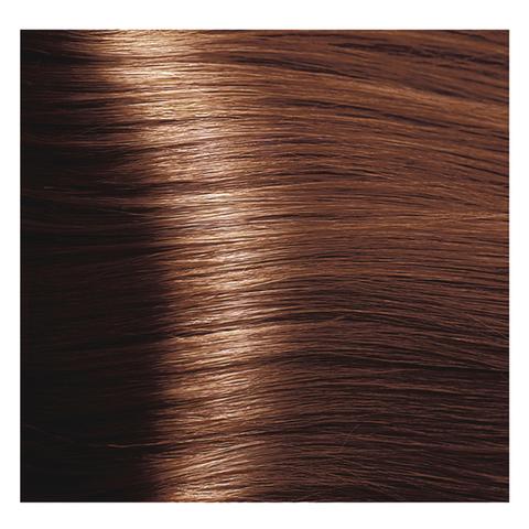 Крем краска для волос с гиалуроновой кислотой Kapous, 100 мл - HY 7.43  Блондин медный золотистый