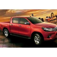 Боковые пороги OE-STYLE Toyota Hilux (2015+)