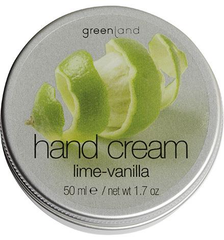 Крем для рук лайм-ваниль, Greenland