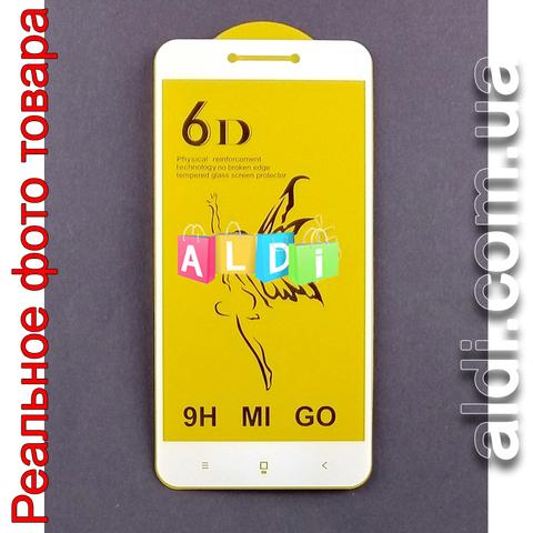 Защитное стекло Xiaomi REDMI 4X 5D БЕЛОЕ Full Glue полное покрытие/проклейка 3D 5D 6D 9D