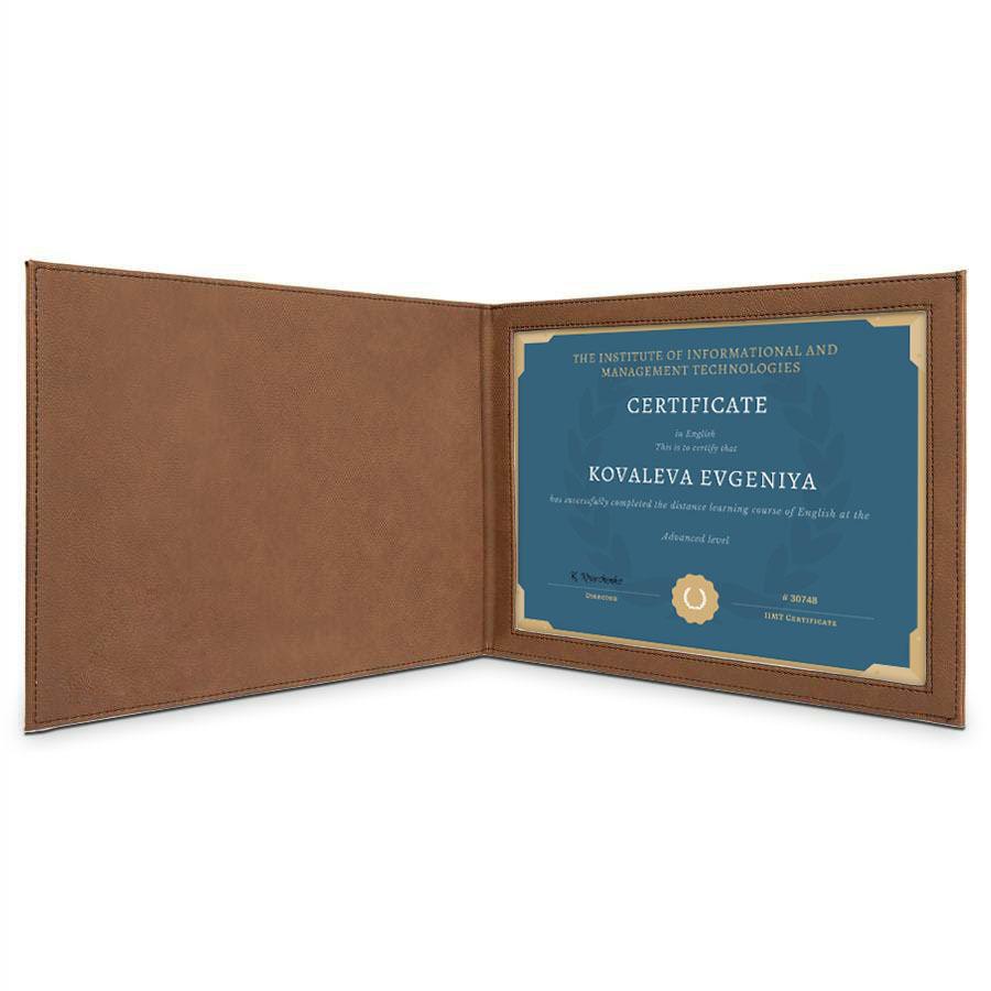 Папка-обложка «Перфект» для диплома (красная)