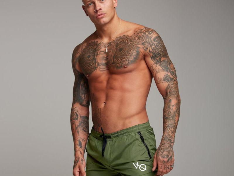 Мужские шорты хаки Vanquish