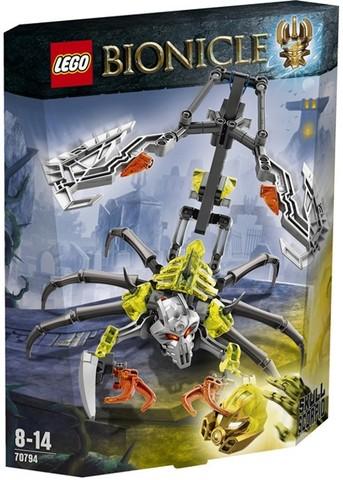 LEGO Bionicle: Череп-Скорпион 70794 — Skull Scorpio — Лего Бионикл