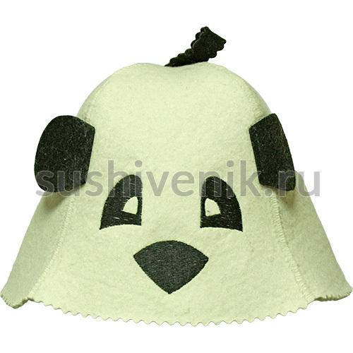 Шапка детская Панда с ушками