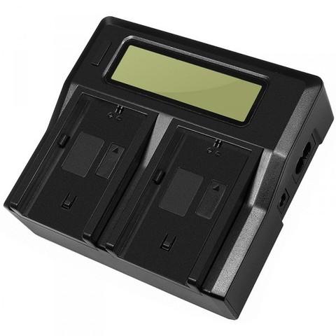 Двойное зарядное LCD устройство Allytec для Sony NP-F970