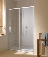 Душевая дверь Kermi CADA XS CKG2L 1370-1410-2000 раздвижная с панелью