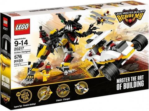 LEGO Master Builder Academy: Дизайнер действий 20217 — Action Designer — Лего Академия строительства