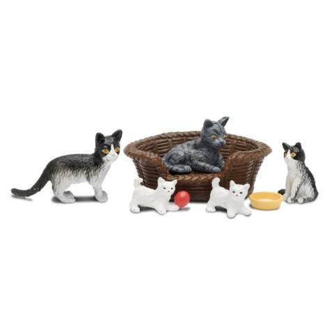 Набор животных Кошачья семья, Lundby