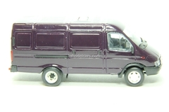 GAZ-2705 Gazelle van second facing violet Agat Mossar Tantal 1:43