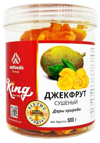 Натуральный сушеный джекфрут King, 500г.