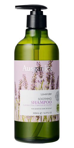 Успокаивающий шампунь для волос
