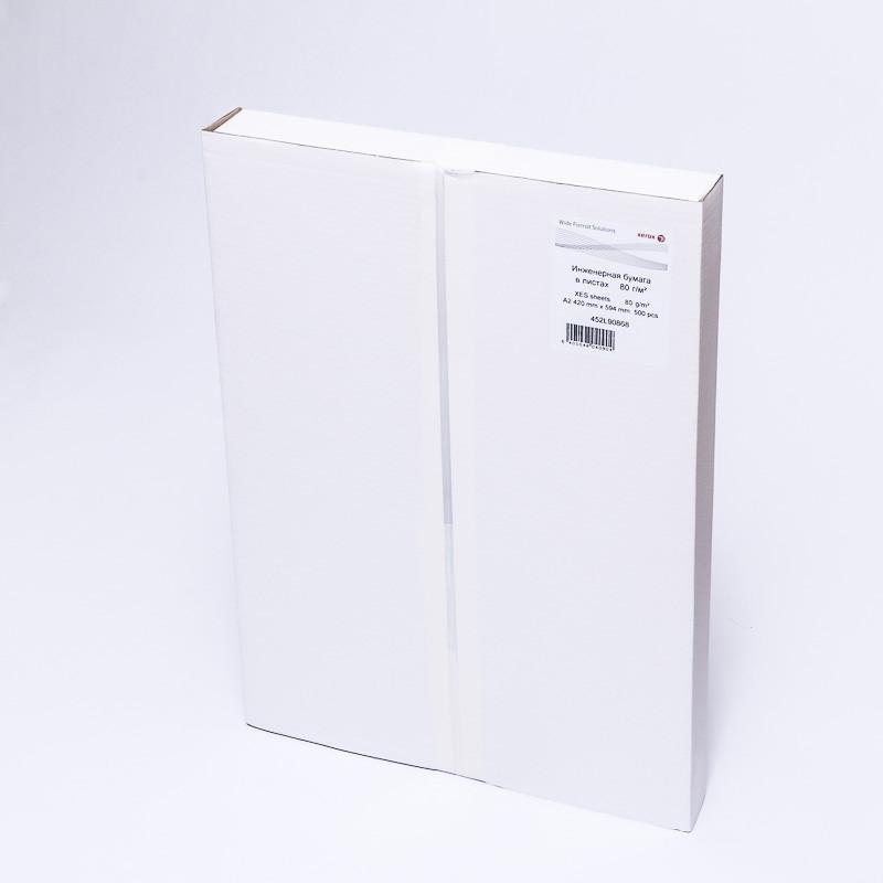 Бумага широкоформатная Xerox XES (А2, 420х594, 80 г/кв.м, 500 листов)
