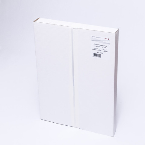 Бумага широкоформатная XEROX инженер. (А2,420х594,80г,) пачка 500л.