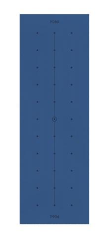 Коврик для йоги с разметкой Align Indigo Line 183*61*0,6 см
