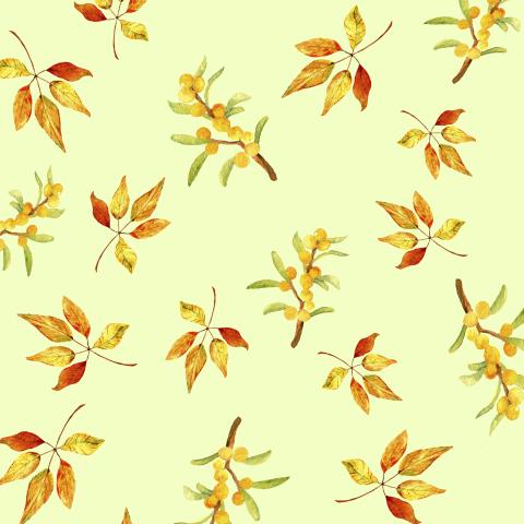 Осенние паттерн листья