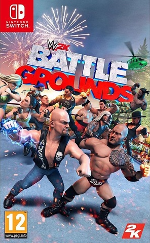 WWE 2K Battlegrounds (Nintendo Switch, английская версия)
