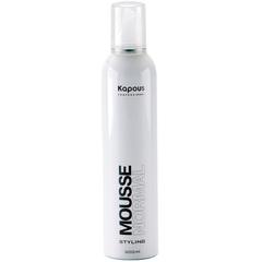 KAPOUS мусс для укладки волос нормальной фиксации 400мл.