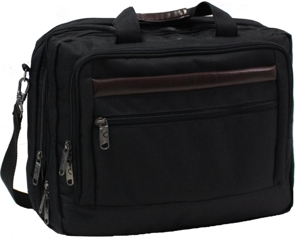 Сумки для ноутбука Сумка для ноутбука Bagland Бизнес 15 л. Чёрный (0044166) 1a3f528a7f59019679c74f693310a5e1.JPG