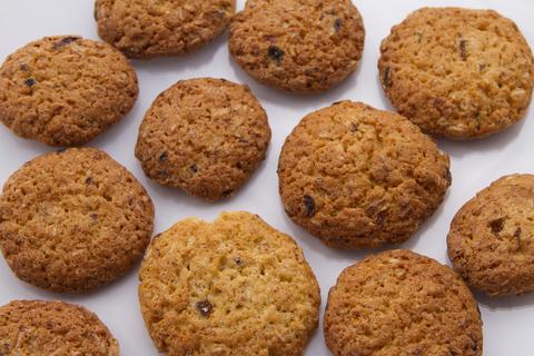 Печиво вівсяне з родзинками