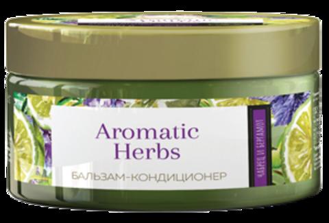 Romax Aromatic Herbs Бальзам-кондиционер Чабрец и Баргамот для жирных волос и проблемной кожи головы 300г