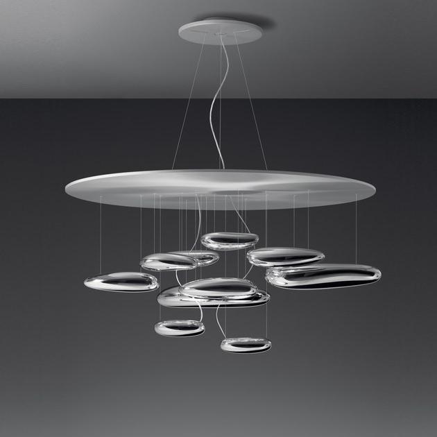 Подвесной светильник копия Mercury by Artemide (8 плафонов)
