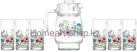 Набор питьевой Luminarc Rose Pompon - 7 пр.