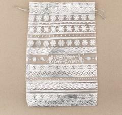 Мешочек подарочный органза «Волшебного Нового Года», 10 х 12 см, 3512399