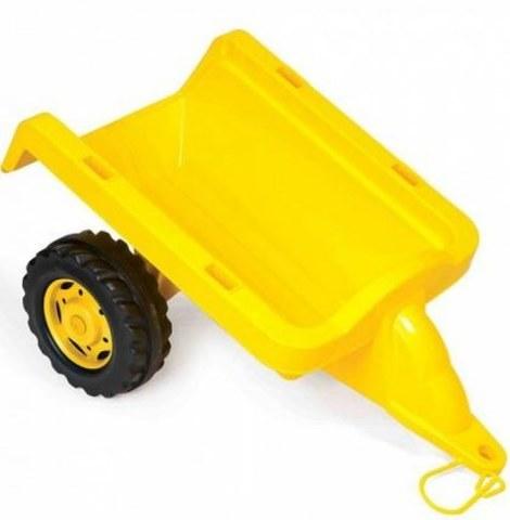 Пластиковый прицеп Dolu DL_8054 желтый