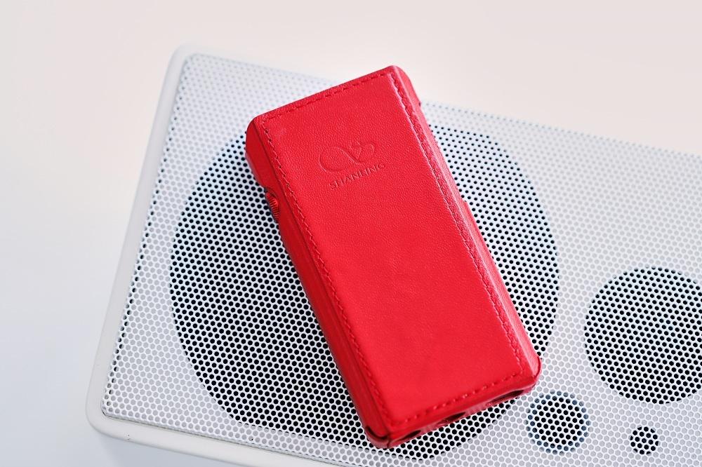 Чехол для плеера Shanling M5s. Цвет: красный.