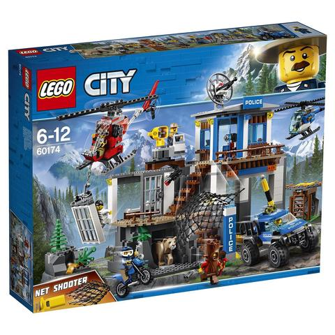 LEGO City: Полицейский участок в горах 60174 — Mountain Police Headquarters — Лего Сити Город