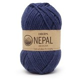 Пряжа Drops Nepal 6790 синий